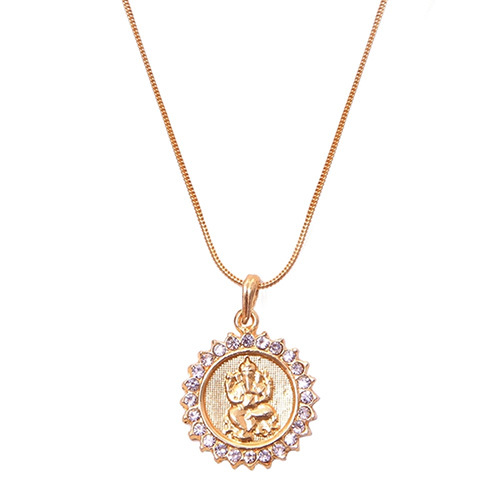 Ganesha With Surya Pendant