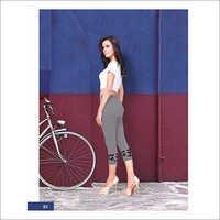 Ladies Designer Capri