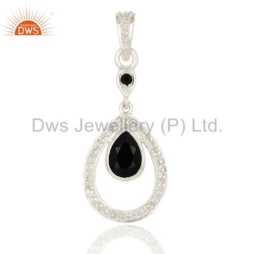 Multi Gemstone 925 Silver Pendant Manufacturer