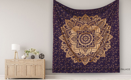 Handloom Bed Sheet Wall Tapestry
