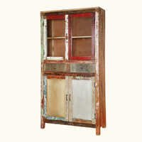 Reclaimed Wall Accent Cabinet