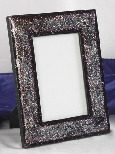 Black Marble Shyning Photo Frame
