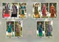 Sanskruti silk mils (Blosoom) Design Printed Salwar kameez
