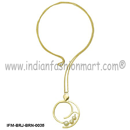 Esperance  of Purity - Brass Pendant