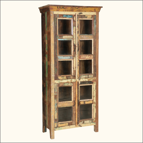 Ancient Quarter Reclaimed Display Storage Cabinet