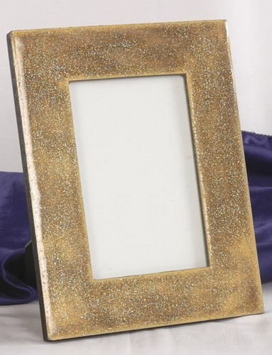 Golden Marble Picture Frame