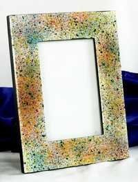 Colour Marble Wooden Picture Frame