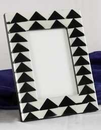 Black Mop Picture Frame