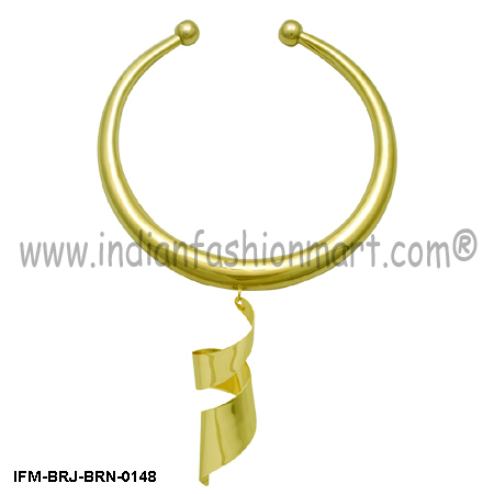 Eyesome Perky - Brass Earring