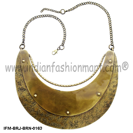 Whigmaleerie Celestial  - Brass necklace