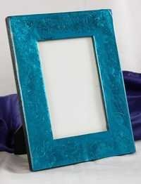 Blue Texture Picture Frame