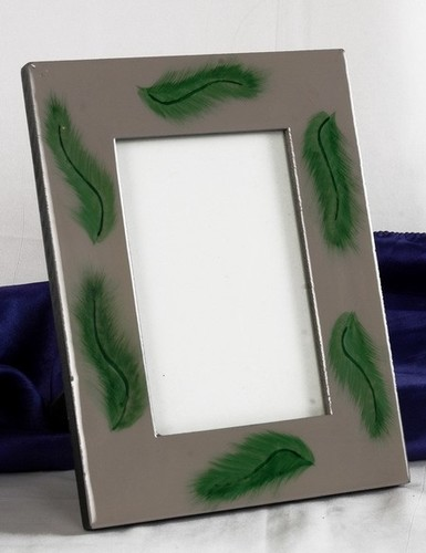 Gray Green Picture Frame