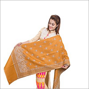 Rasmalai Design Shawl - Traditional Buti Designer With Kashmiri Border Shawl