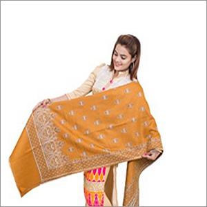 Rasmalai Design Shawl - Traditional Buti Designer With Kashmiri Border Shawl