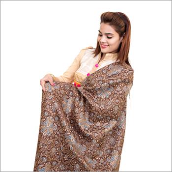 Traditional Multicolored Toosha Designer Shawl