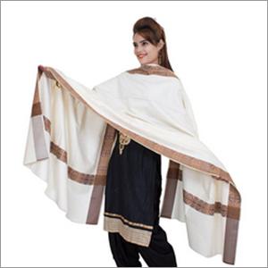 Traditional Kullu Designer Creame Shawl