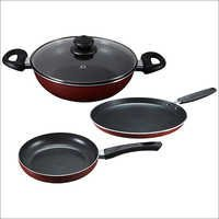 Omega Deluxe Induction Base Non-Stick Kitchen Set