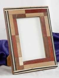 Rectangle Bone Block Picture Frame
