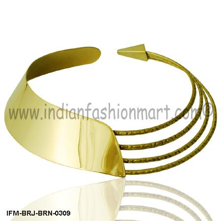 Charming Trixie -  Brass collar