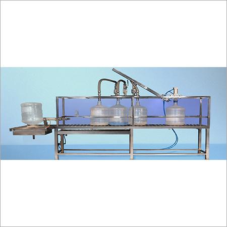 Semi Automatic 20Ltr Jar Filling Machine