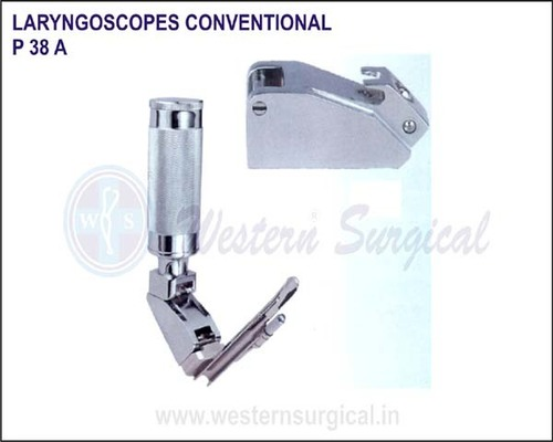 Laryngoscopes conventional (Howland Lock)