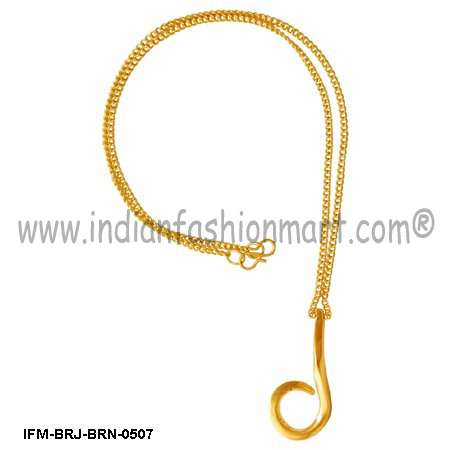 Clinquant Joy - Brass pendant