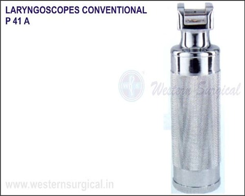 Laryngoscopes conventional (Stubby handle)