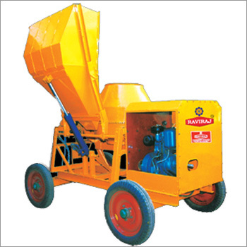 Fully Hydraulic Concrete Mixer