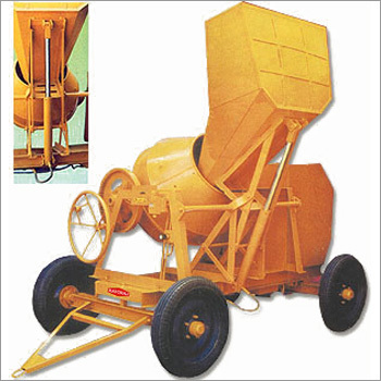 Hydraulic Concrete Mixer