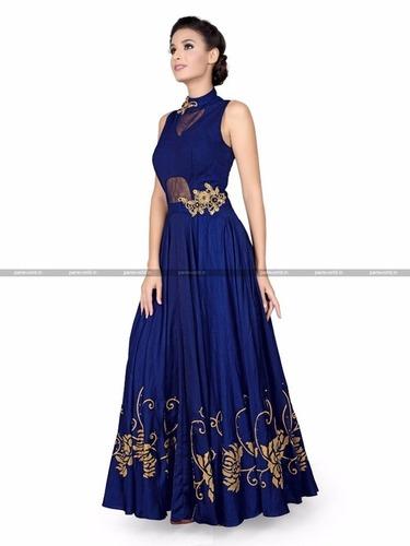 Silk Designer Salwar Kameez