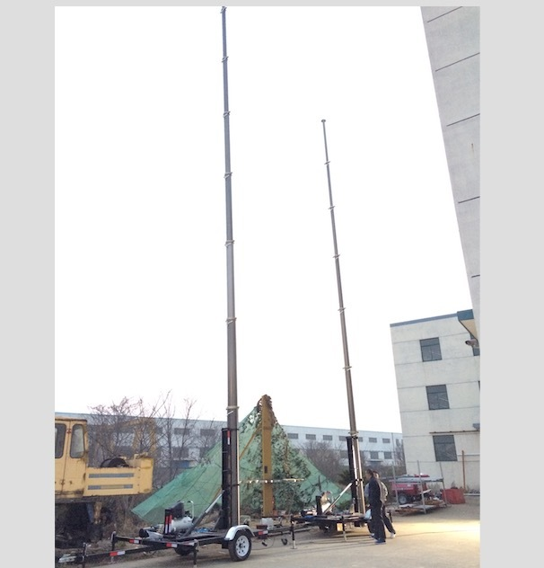 15m Mobile Mast Tower System