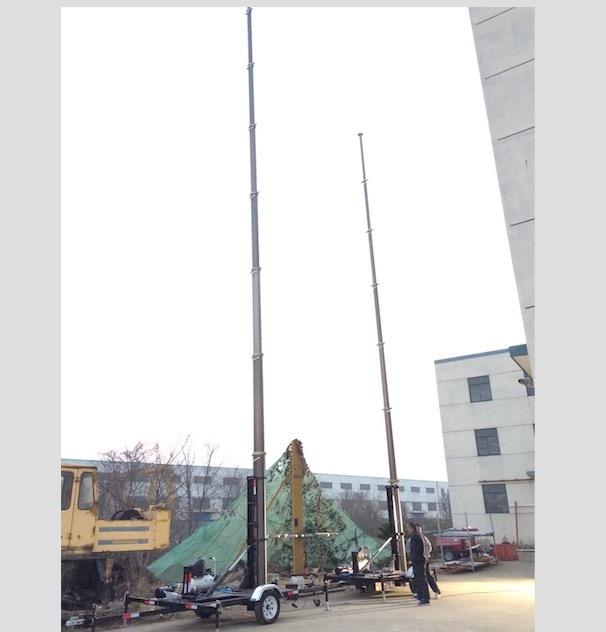 21m Mobile Mast Trailer System