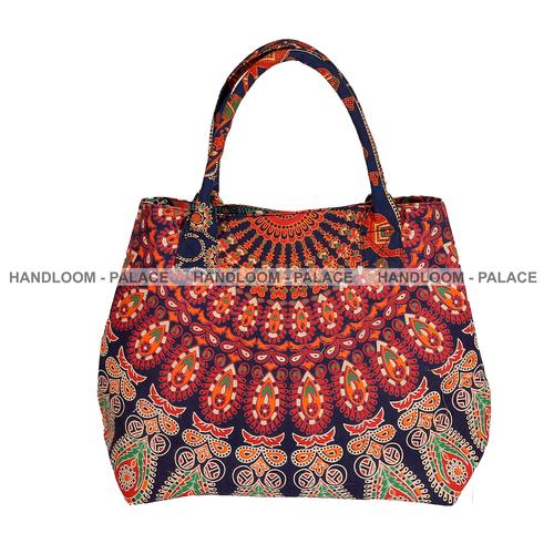 Ladies Cotton Shoulder Bags