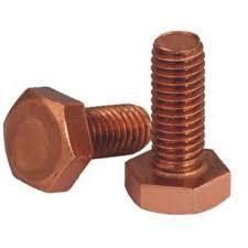 Copper Hex Bolt