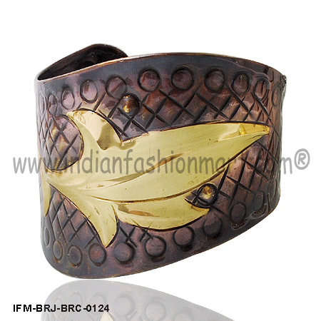 Prowess Redefined - Brass Wrist Cuff
