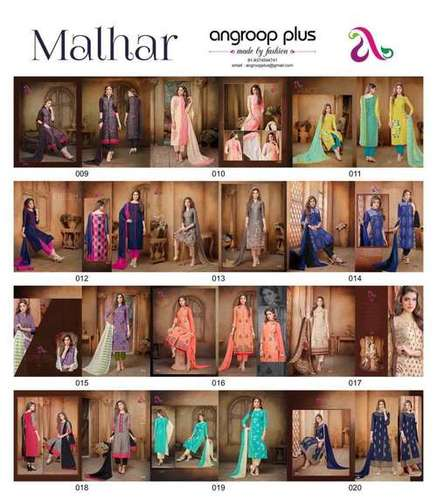 Angroup Plus (MALHAR) Design Strath Salwar kameez