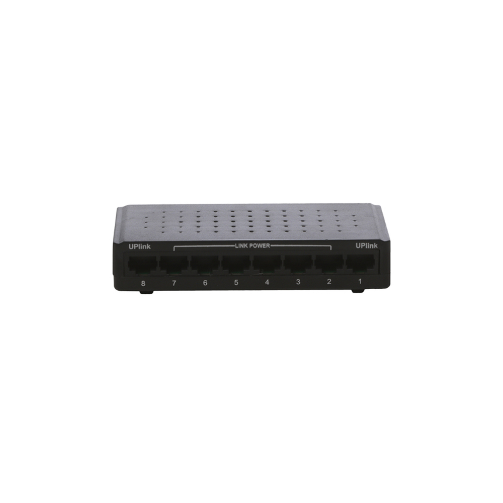 Reverse PoE 10/100 Mbps Switch 6port+2Uplink