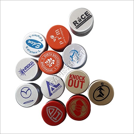 Printed Aluminium Bottle Caps