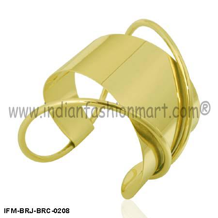 Siren Moderna - Brass Wrist cuff