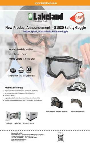 SAFETY SPECTACLES / GOGGLE