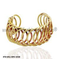 Circumbendibus  Glory  - Brass Cuff