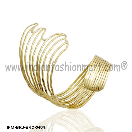 Wings of  Felicity - Brass cuff
