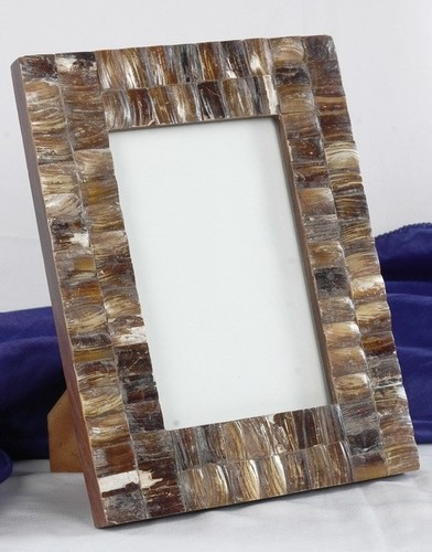 Brown Mop Block Picture Frame