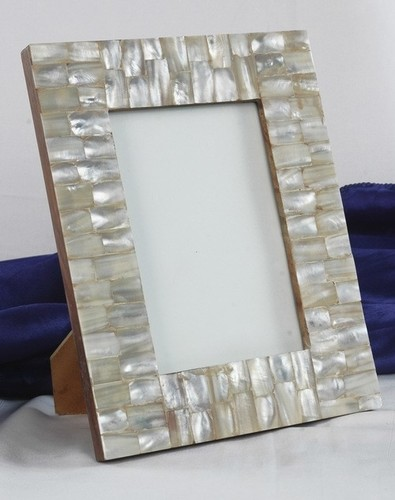 White Mop Glitering Picture Frame