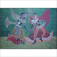 Radha Krishna Painting Board