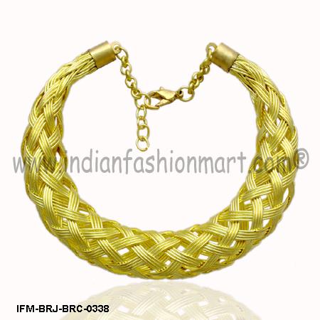 Ogle Panache -  Brass Bracelet