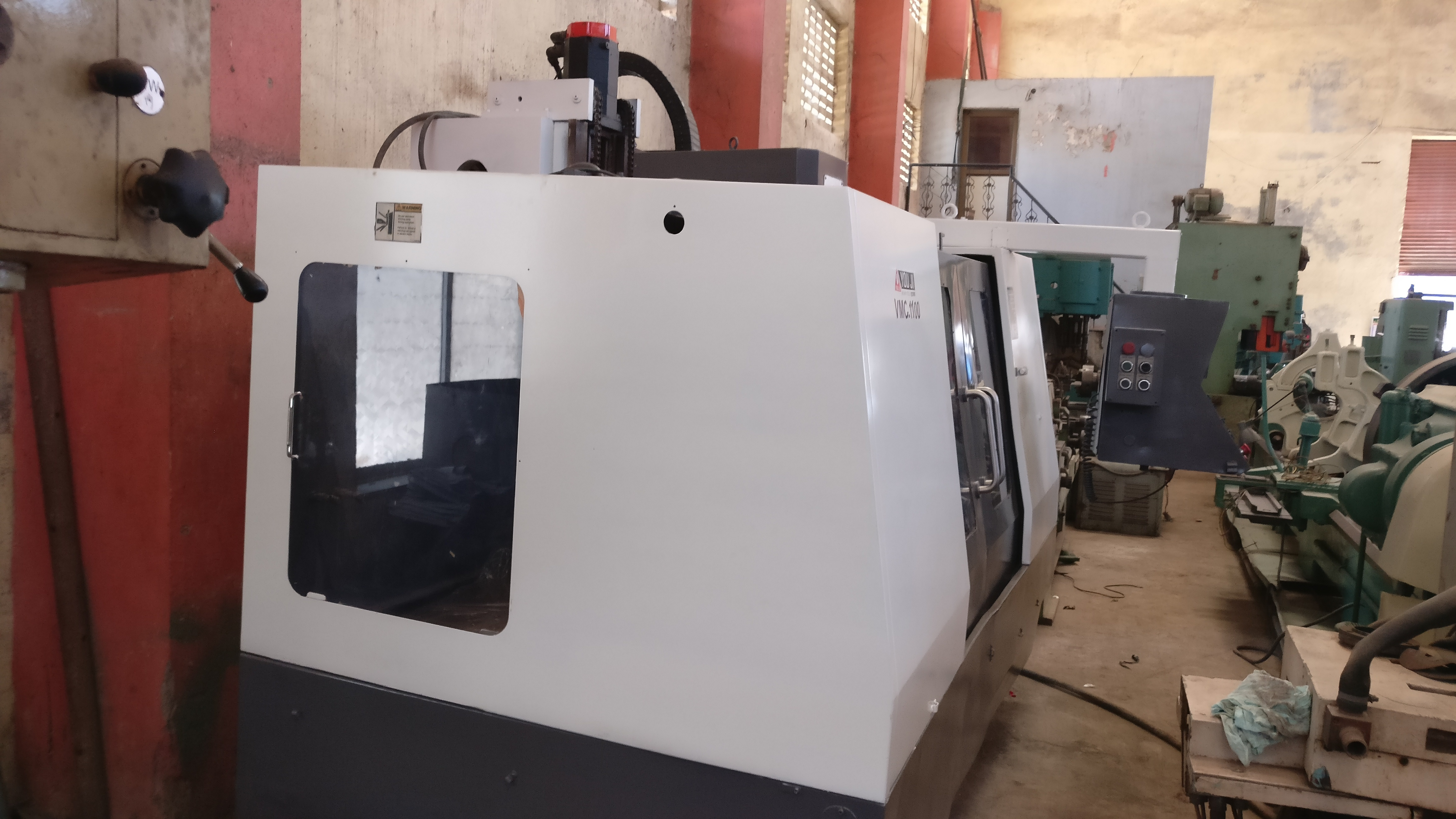Used Vertical Milling Center