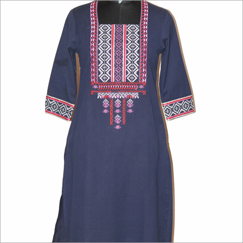 Ladies Printed Fancy Kurtis