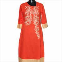 Ladies Printed Designer Kurtis