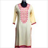 Ladies Printed Trendy Kurtis
